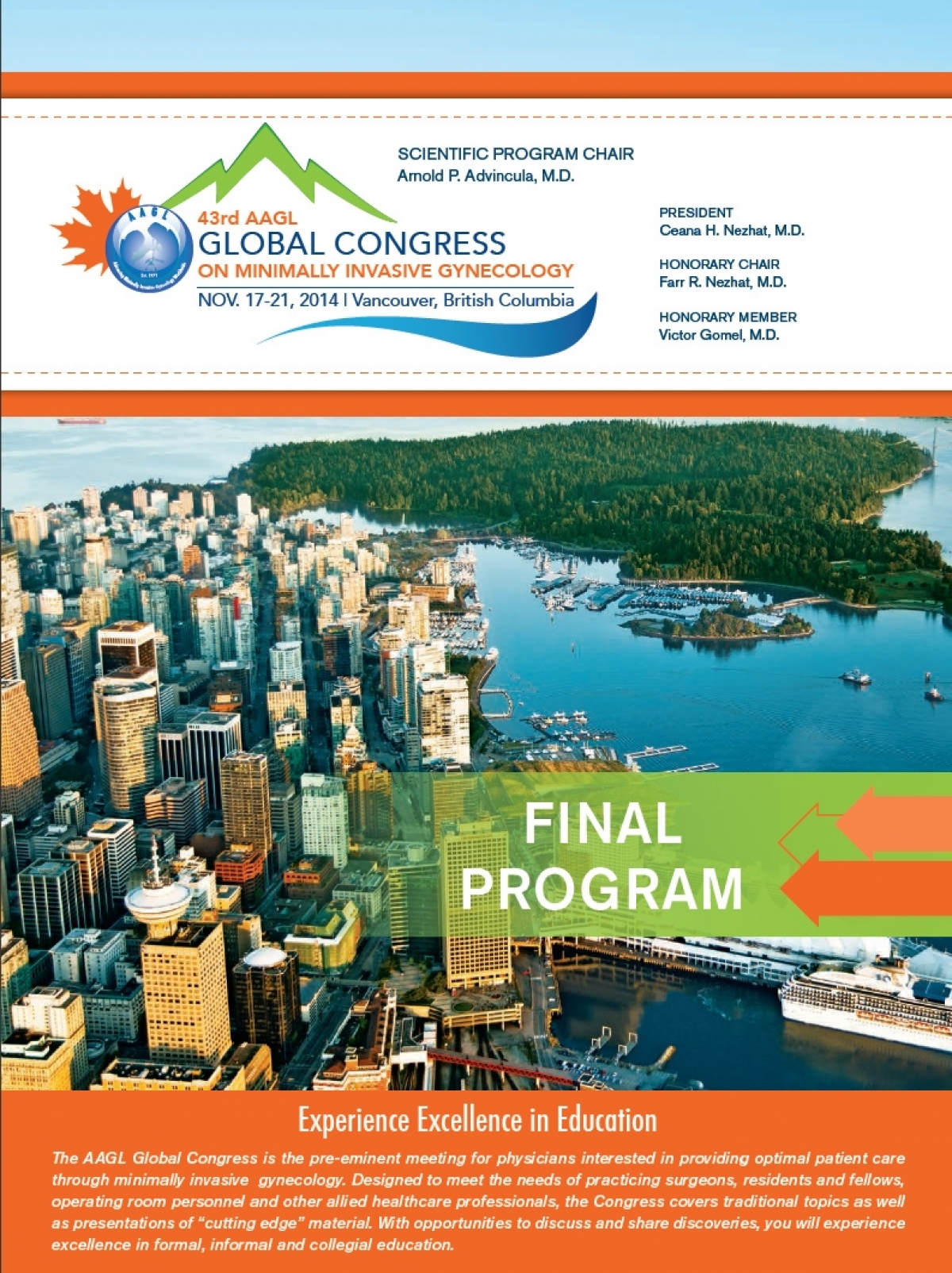 43rd AAGL Global Congress - 2014